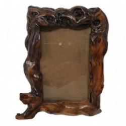 Marco madera rugoso lacado [AB9430]