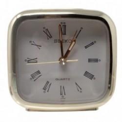 Reloj despertador Seiko dorado [AB9444]