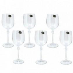 Copas 6 uds. vino blanco cristal bohemia Florence 195ml. [AB9464]