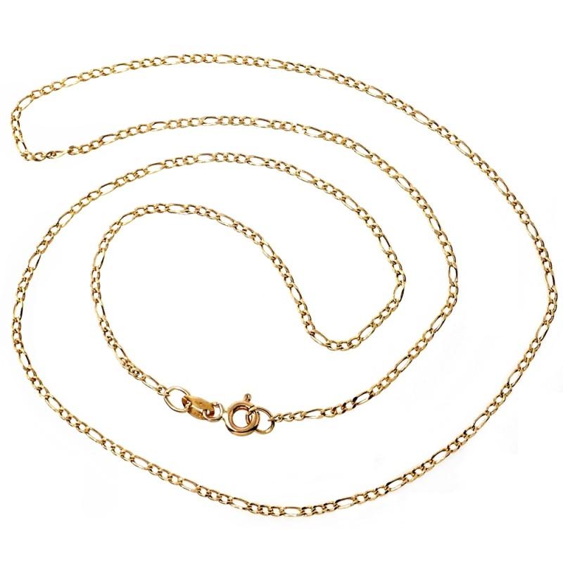 Buenos precios siempre popular bueno Cadena oro 18k cartier 50 cm hueca 1 mm. 1,80 gr [9446]