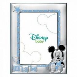 Marco portafotos plata Ley 925m Disney 18x13cm. Mickey [AB9995]