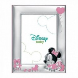 Marco portafotos plata Ley 925m Disney 9x13cm. Minnie [AB9996]