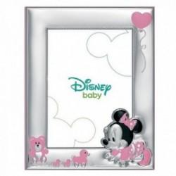 Marco portafotos plata Ley 925m Disney 18x13cm. Minnie [AB9997]