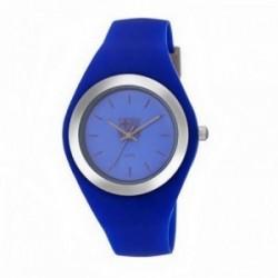 Reloj F.C. Barcelona Radiant unisex azul plateado BA07702