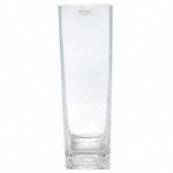 Florero cristal cuadrado base cristal grueso [AB9487]