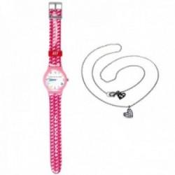 Juego Agatha Ruiz de la Prada reloj AGR200 gargantilla plata [AC0757]