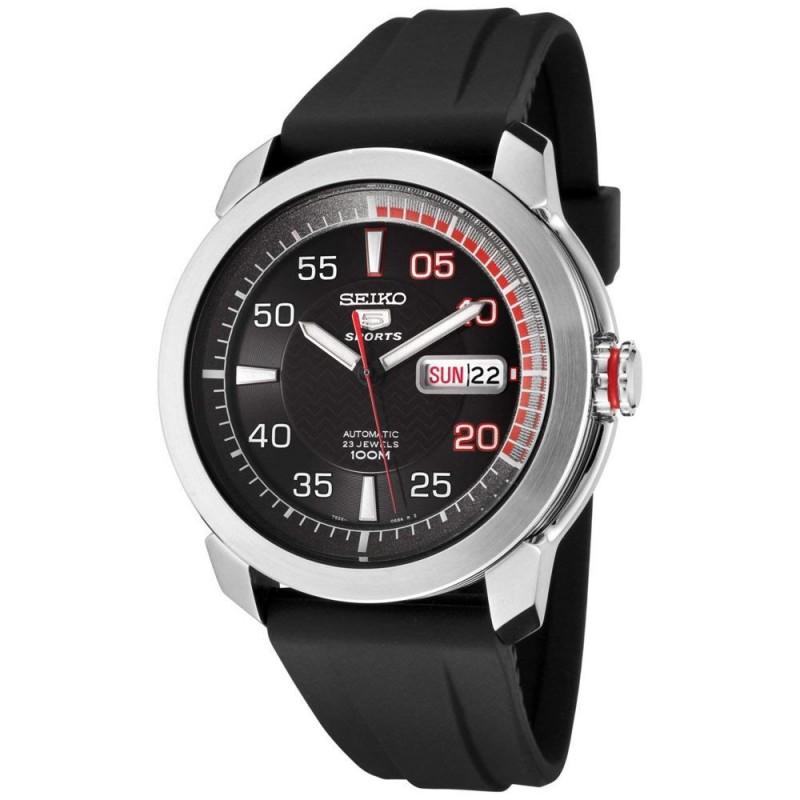 e39b81f3a Reloj Seiko hombre 5 Sports automático negro SNZH69K1 [AC0868]