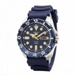 Reloj Seiko hombre 5 Sports automático azul SRP605J2