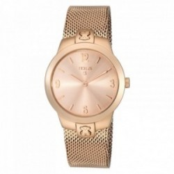 Reloj Tous mujer T-Mesh oso rosado correa milanesa 400350990 [AC0861]