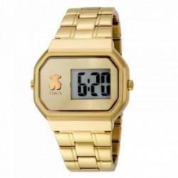 Reloj Tous mujer D-Bear Digital dorado oso 600350300