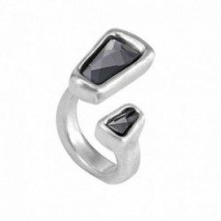 Anillo Unode50 LADYMATIC metal chapado plata talla 11  [AC0872]