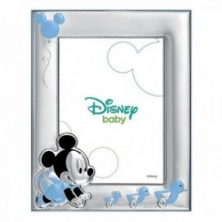 Marco portafotos plata Ley 925m Disney foto 9x13cm. Mickey [AC0888]