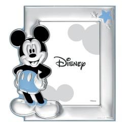 Marco portafotos plata Ley 925m Disney foto 9x13cm. Mickey [AC0891]