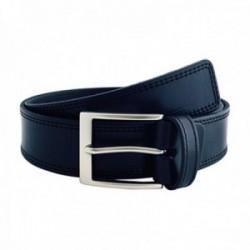Cinturón piel URBAN cosido azul [AC0773]