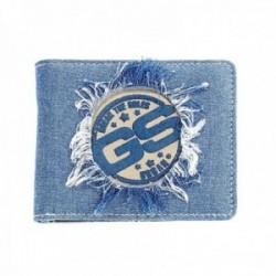 Cartera JEANS americana monedero azul [AC0777]