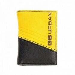 Cartera billetero COMBINATION bicolor amarillo [AC0780]