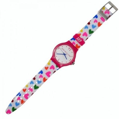 Reloj Agatha Ruiz de la Prada corazones AGR240 rosa [AB9827]