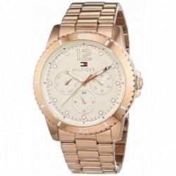 Reloj Tommy Hilfiger mujer rosado multifunción 1781584 [AB9855]
