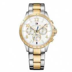 Reloj Tommy Hilfiger mujer multifunción bicolor 1781644