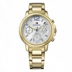 Reloj Tommy Hilfiger mujer dorado multifunción 1781742 [AB9860]