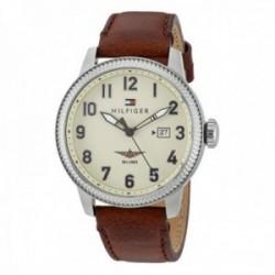 Reloj Tommy Hilfiger hombre piel marrón 1791315 [AB9870]