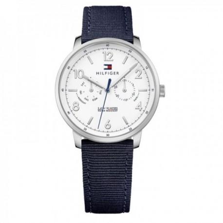 c021cb7c7850 Reloj Tommy Hilfiger hombre multifunción nylon 1791358  AB9871