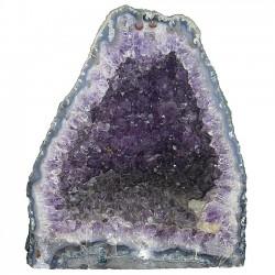 Mineral amatista ÉBANO [4486]