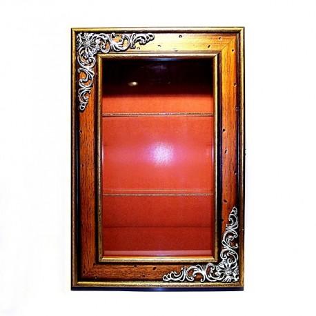 Vitrina madera cristal [4405]