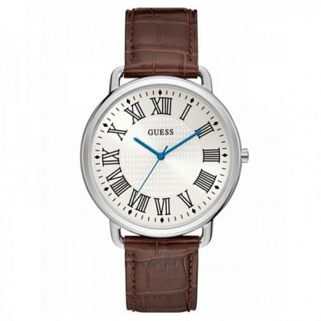 Reloj Guess hombre Watches Gents Lincoln W1164G1 piel marrón números romanos