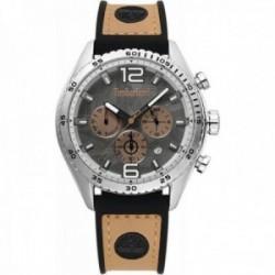 Reloj Timberland hombre Stonington Grey Brown-Black 15512JS-13 analógico cronómetro