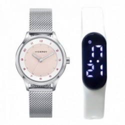 Pack reloj Viceroy niña colección Sweet con pulsera actividad física SmartBand 461114-74 [AB9948]