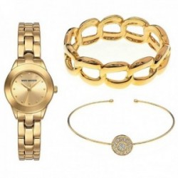 Pack reloj Mark Maddox 2 brazaletes mujer dorado MF0008-27