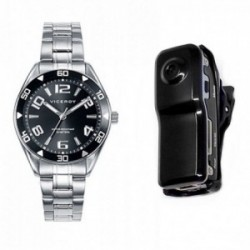 Pack reloj Viceroy cadete acero inoxidable negro con cámara de video 40975-55 [AC1078]