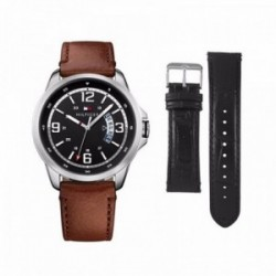 Reloj Tommy Hilfiger hombre Henry con dos correas intercambiables 1791321 [AC1081]