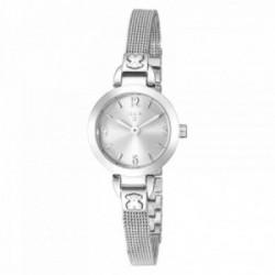 Reloj Tous mujer Bohème Mini plateado acero inoxidable correa malla milanesa 400350125 [AC1090]