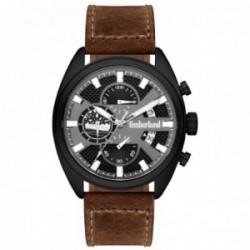 Reloj Timberland hombre Seadbrook piel marrón esfera negra 15640JLB-61