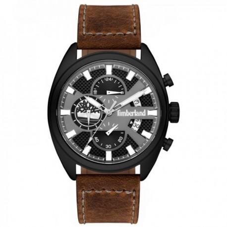 d9cc4d4c5f8b Reloj Timberland hombre Seadbrook piel marrón esfera negra 15640JLB-61   AC1115