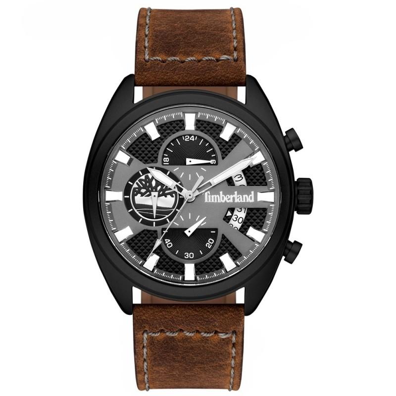 bf656583ac98 Reloj Timberland hombre Seadbrook piel marrón esfera negra 15640JLB-61   AC1115