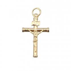 Cruz crucifijo oro 18k Cristo [4888]