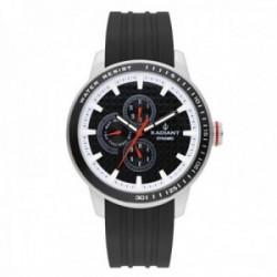 Reloj Radiant Dax Black RA494702 Dynamic hombre multifunción analógico correa silicona