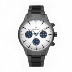 Reloj Radiant hombre Golem White Gun Metal RA518202 multifunción pulsera acero inoxidable [AC1700]