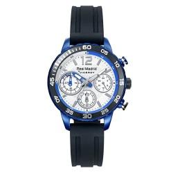 Reloj Real Madrid Viceroy 40962-05 cadete negro azul silicona agujas luminiscentes