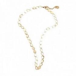 Collar Pertegaz colección Cort cadena 90cm. mujer motivos dorados eslabones
