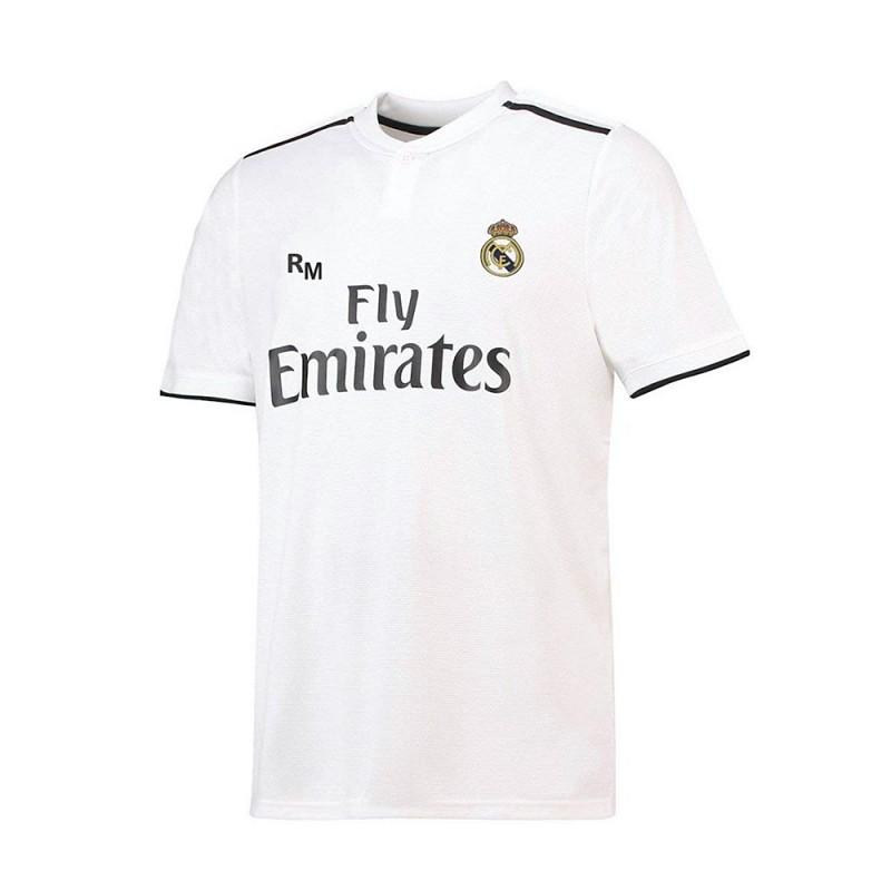 059feb3735d Camiseta Real Madrid 2018-19 réplica oficial junior primera equipación.  Loading zoom