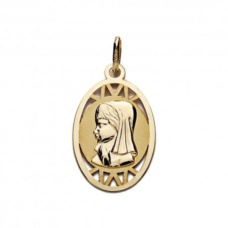 Sortija oro 9k bicolor piedras y nudo [AA0751]