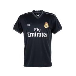 Camiseta Real Madrid 2018-19 réplica oficial junior segunda [AB9185]