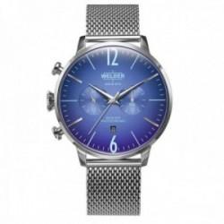 Reloj Welder Moody hombre Breezy WWRC1001 esfera lente fotocromática correa malla milanesa