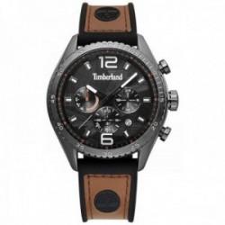 Reloj Timberland hombre 15512JSU-02 Stonington Black Brown cronógrafo