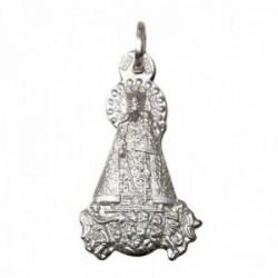 Colgante plata Ley 925m silueta 29mm. imagen Nuestra Señora de los Desamparados detalles tallados