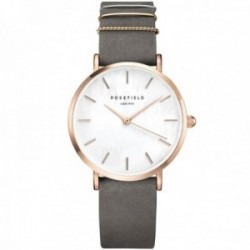 Reloj Rosefield mujer WEGR-W75 The West Village Elephant Grey Rosegold